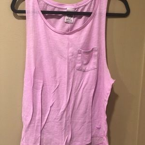 Victoria's Secret Pink Lavender Tank Top